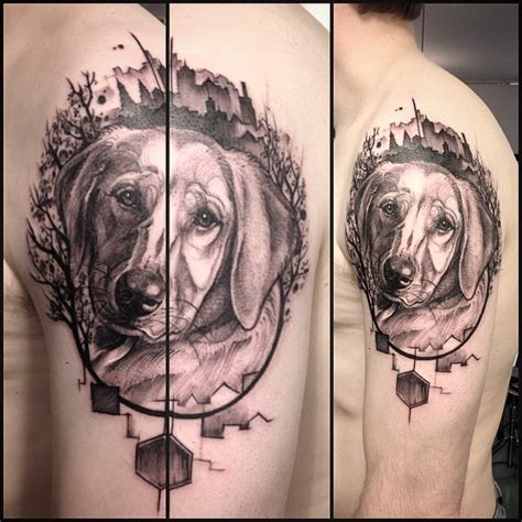 dog house tattoo graphic pet dog tattoo on shoulder best tattoo ideas gallery