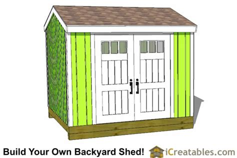 10x10 delux shed plans gable shed storage shed plans icreatables