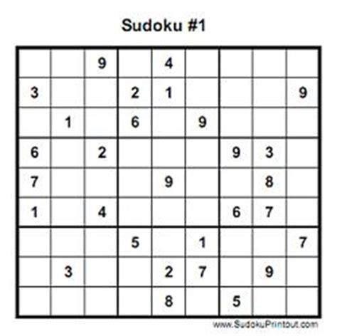 free printable variety sudoku soduko puzzle printable trials ireland