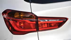 bmw x1 tail light cover 2016 bmw x1 25d xline uk spec tail light hd