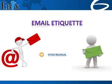 email etiquette pdf email etiquette authorstream