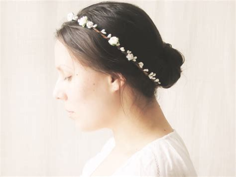Wedding Hair Accessories Halo by Flower Crown Bridal Halo Rustic Wedding Hair Accessories