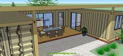 Two Bedroom Modular   Container Homes & Pop Up Shops
