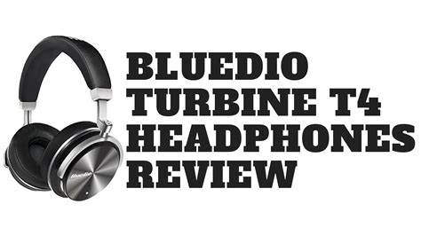 Bluedio T4 Turbine Wireless Bluetooth Headphones bluedio turbine t4 active noise cancelling bluetooth wireless headphones review