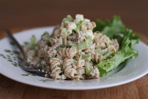 pasta salad with tuna tuna macaroni salad recipe dishmaps