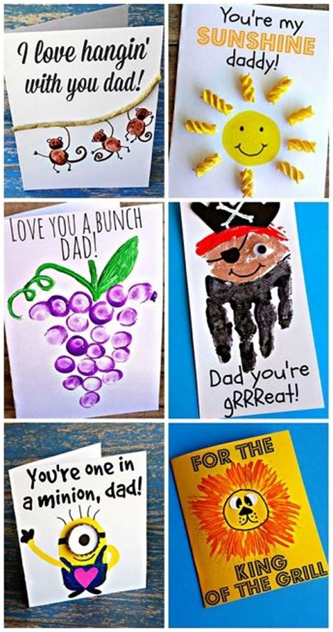 fathers day cards for children to make 15 ideas for s day cards that children will really
