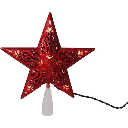 christmas tree toppers at walmart time 10 led glitter tree topper walmart
