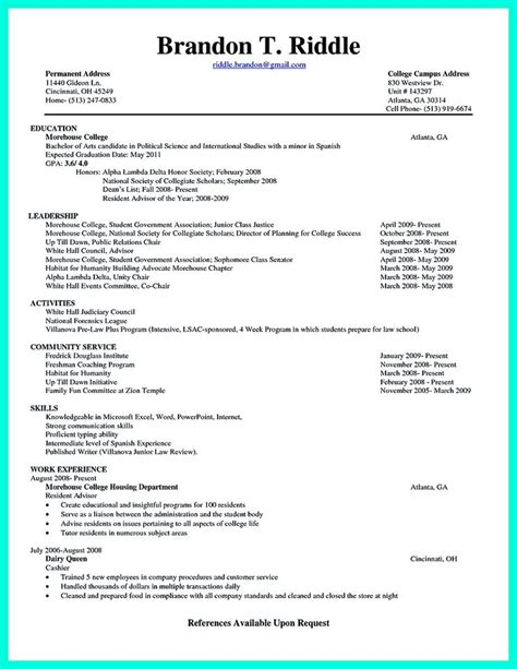 college student resume template the world s catalog of ideas