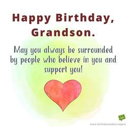 Happy Birthday Grandson Quotes From Your Grandma Grandpa Birthday Wishes For My Grandson