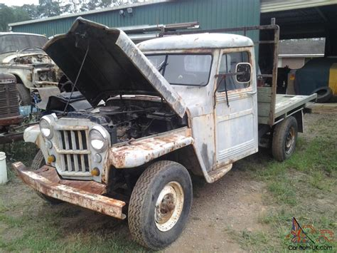 52 Willys Jeep 1951 52 Willys Jeep Not Holden Chev Ford In Gympie Qld