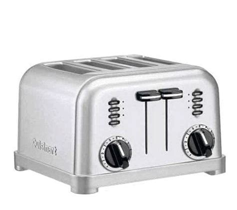 Cuisinart Classic Toaster Cuisinart Metal Classic 4 Slice Toaster Qvc