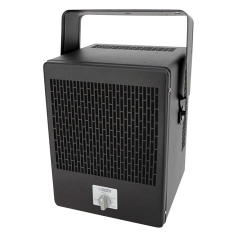 shop king 5000 watt electric garage heater with thermostat