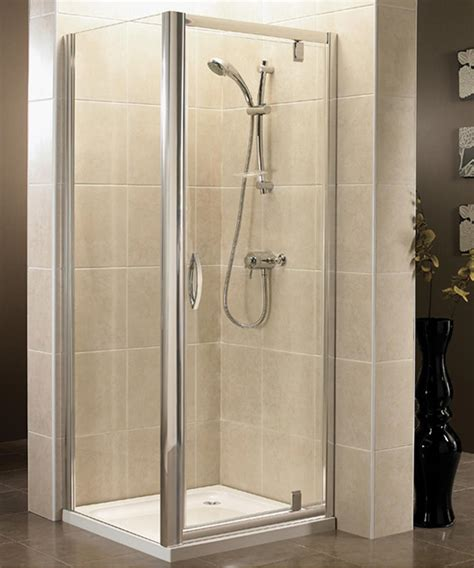 760mm Shower Door April Identiti2 760mm Pivot Shower Door The Bathroom Cellar