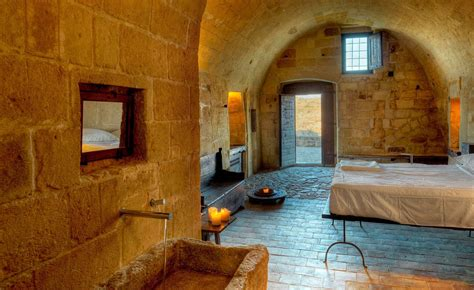 Cave Bedroom by Clothespeggs Cave Hotel Sextantio Le Grotte Della Civita