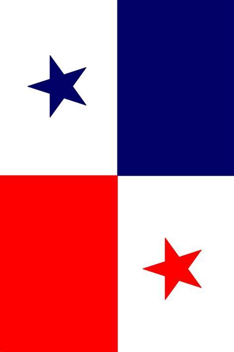pabellon tricolor letra bandera panama simbolos patrios de panam 225