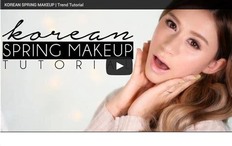 popular korean instagram trend makeup tutorial korean spring makeup trends makeup tutorial