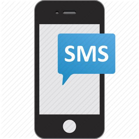 mobile sms chat sms text message texting icon
