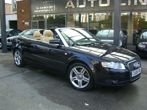 Audi A4 2 0 T Tuning by View Of Audi A4 2 0 T Fsi Cabriolet Multitronic Photos