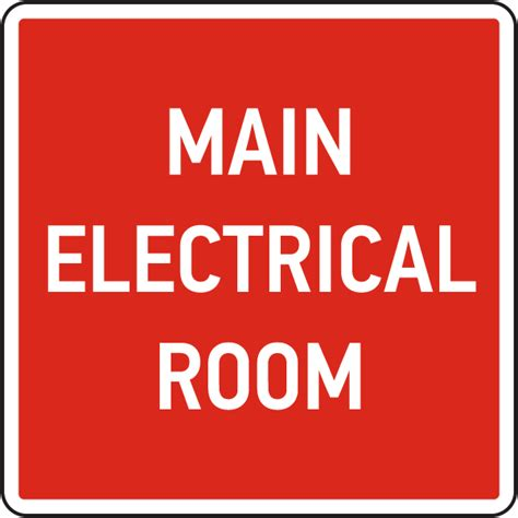 electrical room safety electrical room sign 25721 by safetysign