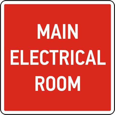 electrical room sign electrical room sign by safetysign 25721