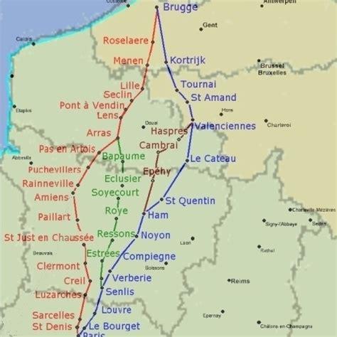 Chemin De St Jacques De Compostelle ã Vã Les Routes De Jacques De A Georges