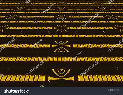 interference pattern gold kaleidoscopic interference pattern laser beam reflected