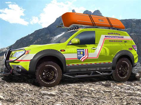 off road subaru forester subaru creates ultimate off road forester with sema