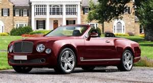 Bentley Mulsanne Drophead 2013 Bentley Mulsanne Convertible Render Lapnews