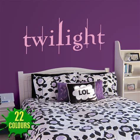 twilight bedroom twilight wall stickers decals wall stickers decals