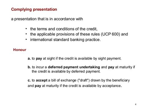Letter Of Credit With Deferred Payment Terms Letter Of Credit