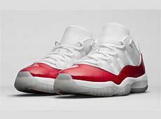 Official Images Of The Air Jordan 11 Low Varsity Red ... Lebron 11s Red