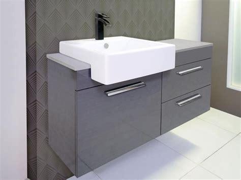 semi recessed vanity unit  ensuite salle de bain