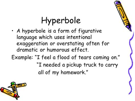 imagery simile metaphor personification hyperbole ppt