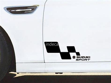 Suzuki Samurai Stickers 1 X Suzuki Sport Sticker Black Indecals