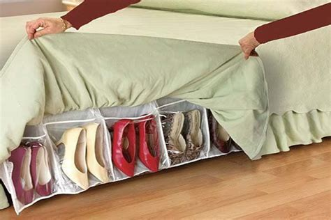 shoe storage ideas bed creative bed storage ideas for bedroom