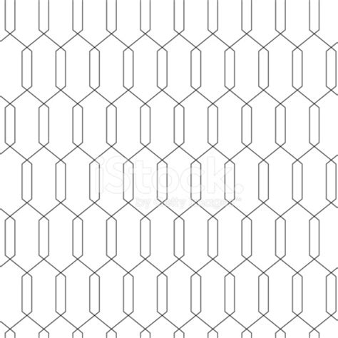 Geometric Abstract Seamless Simple Linear Pattern