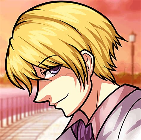 anime japanese drawing easy drawing of tamaki senpai step by step anime
