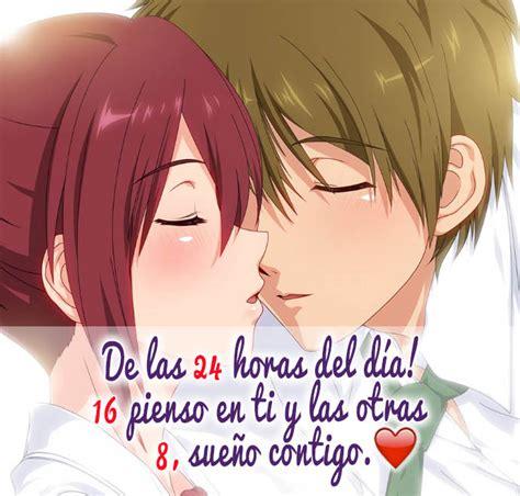 imagenes anime kawaii de amor lindas frases de amor de anime para dedicar imagenes de