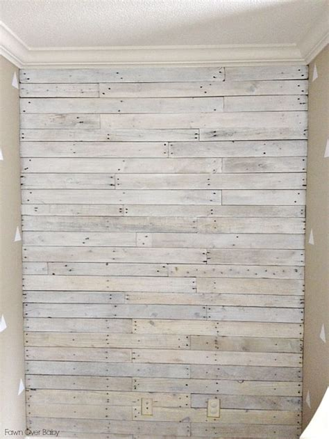 Color Washing Walls - diy white washed pallet wall happy headboard ideas and inspirational blogs