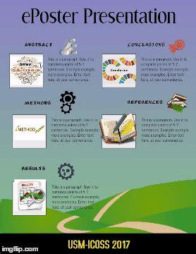 eposter template e poster presentation