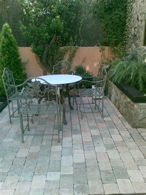 Imagenes De Jardines Con Adoquines | foto colocaci 243 n de adoquines para senador del jardin de