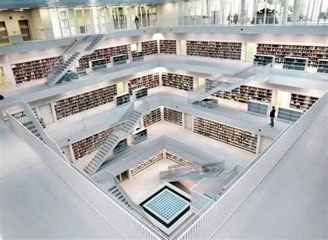 stuttgart city library stuttgart s refreshingly new modern library my modern met