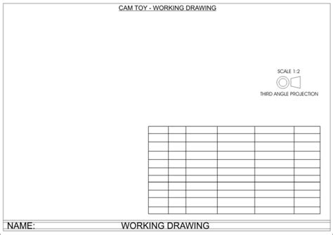 turbocad drawing template working drawing template