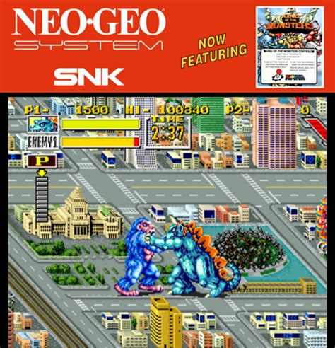 emuparadise neo geo king of the monsters set 1 rom