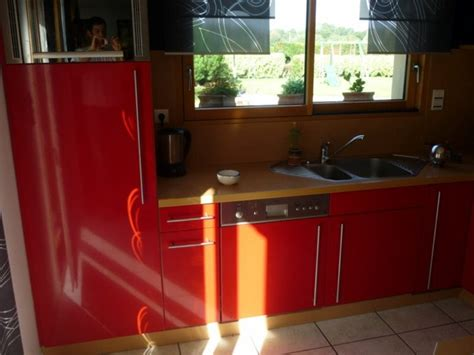 peinture laqu馥 cuisine de cuisines meubles rosebonbon les cuisines et les