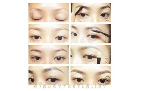 stylish eyebrows shapes for black women top 10 eyebrow shapes for asian women asian woman shape