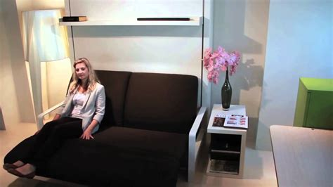 ito sofa wall bed ito resource furniture wall bed systems youtube