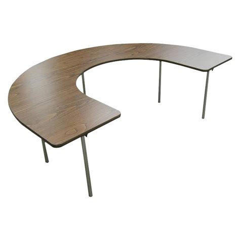 horseshoe shaped couch bailey horseshoe shape adjustable activity table tables