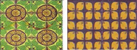 Motif Segi 4 Motif Garis Abstrak motif ragam hias pada produk kerajinan dari bahan lunak