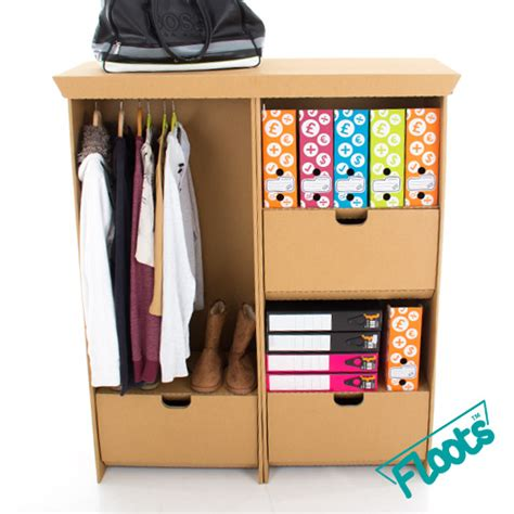 Desk Wardrobe Units by Eco Combo Pack Eco Floots Cardboard Furniture